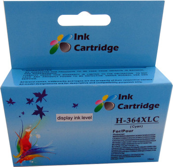 Compatible HP 364XL Cyan Inkjet Cartridge boxed