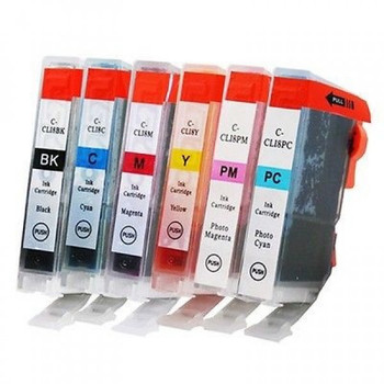 Compatible Canon CLI-8 Multi Pack Cartridges (6)