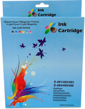 Compatible Epson T0487 Ink Cartridge Multipack