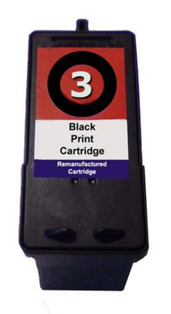 Compatible Lexmark No.3 Black Inkjet Cartridge