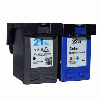 Compatible HP 21XL/22XL Black/Colour Combo Pack