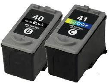 Compatible Canon PG-40/CL-41 Ink Cartridge Combo Pack