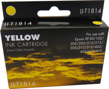 Compatible Epson 18XL (T1814) Yellow Inkjet Cartridge