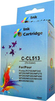 Compatible Canon CL-513 Colour Inkjet Cartridge
