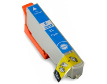 Compatible Epson 26XL (T2632XL) Cyan Inkjet Cartridge