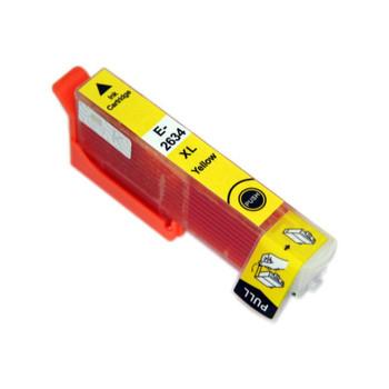 Compatible Epson 26XL (T2634XL) Yellow Inkjet Cartridge