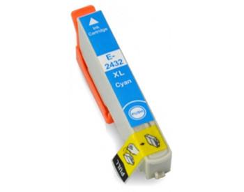 Compatible Epson 24XL (T2432) Cyan Inkjet Cartridge