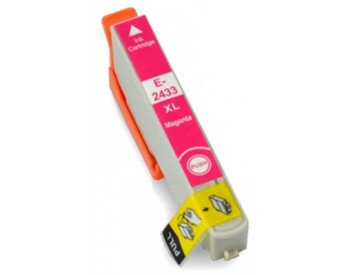 Compatible Epson 24XL (T2433) Magenta Inkjet Cartridge