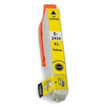 Compatible Epson 24XL (T2434) Yellow Inkjet Cartridge