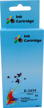Compatible Epson 24XL (T2434) Yellow Inkjet Cartridge