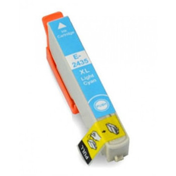 Compatible Epson 24XL (T2435) Light Cyan Inkjet Cartridge