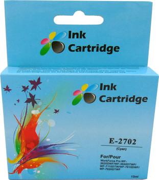 Compatible Epson 27 (T2702) Cyan Inkjet Cartridge