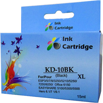 Compatible Kodak 10XL Black Inkjet Cartridge