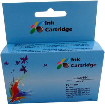 Compatible Canon PGI-520BK Black Inkjet Cartridge