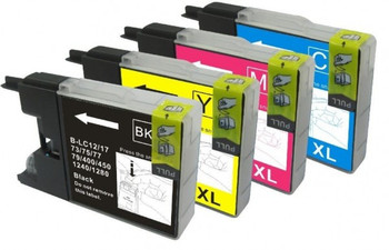 Compatible Brother LC1240 BCMY Ink Cartridge Multipack