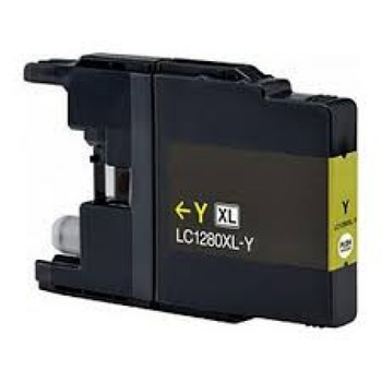 Compatible Brother LC1280XL Yellow Inkjet Cartridge