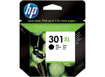 Genuine HP 301XL Black Inkjet Cartridge CH563EE