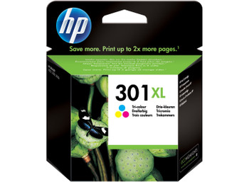 Genuine HP 301XL Colour Inkjet Cartridge CH564EE