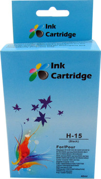 Compatible HP 15XL Black Inkjet Cartridge C6615D