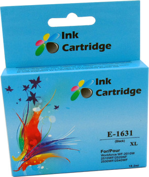 Compatible Epson 16XL (T1631) Black Inkjet Cartridge