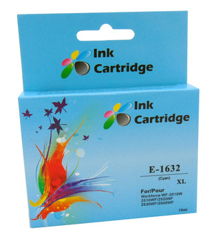 Compatible Epson 16XL (T1632) Cyan Inkjet Cartridge