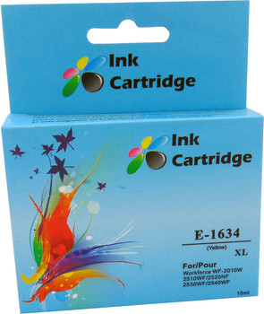 Compatible Epson 16XL (T1634) Yellow Inkjet Cartridge