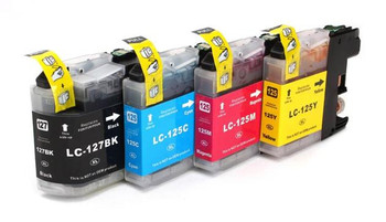 Compatible Brother LC127XL / LC125XL Ink Cartridge Multipack