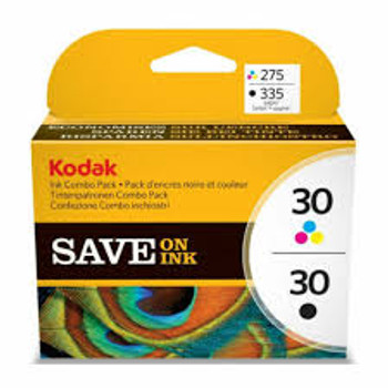 Genuine Kodak 30B/30C Black/Colour Combo Pack