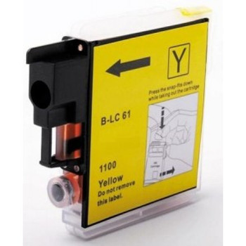 Compatible Brother LC1100 Yellow Inkjet Cartridge