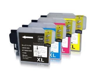 Compatible Brother LC1100 Ink Cartridge Multipack
