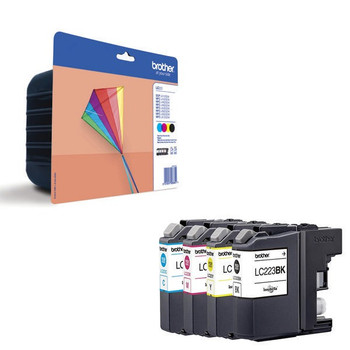 Genuine Brother LC223 Ink Cartridge Value Pack