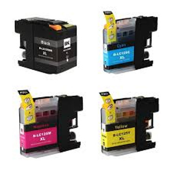 Compatible Brother LC129XL/LC125XL Ink Cartridge Multipack