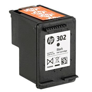 Genuine HP 302XL Black Ink Cartridge F6U68AE