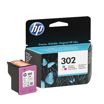 Genuine HP 302 Colour Ink Cartridge F6U65AE