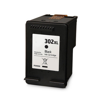 Compatible HP 302XL Black Ink Cartridge F6U68AE