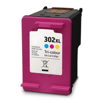 Compatible HP 302XL Colour Ink Cartridge F6U67AE