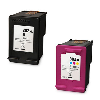 Compatible HP 302XL Black / Tri-Colour Ink Cartridge Multipack