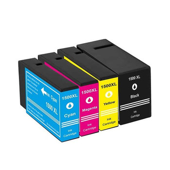 Compatible Canon PGI-1500XL Ink Cartridge Multipack BCMY