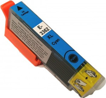 Compatible Epson 33XL High Yield Cyan Inkjet Cartridge T3362