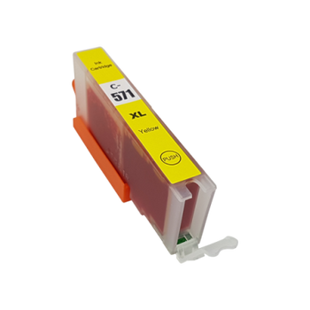 Compatible Canon CLI-571XL Yellow Ink Cartridge 0334C001