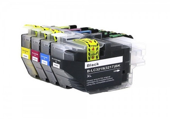 Compatible Brother LC3219XL Value Pack CMYK