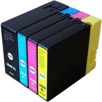 Compatible Canon PGI-2500 Inkjet Cartridge Multipack