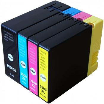 Compatible Canon PGI-2500 Inkjet Cartridge Multipack