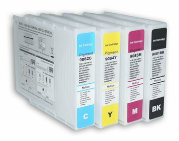 Compatible Epson T9081 Ink Cartridge Multipack (B/C/M/Y)