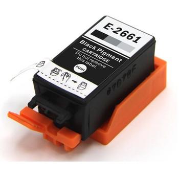 Compatible Epson T2661 Black Inkjet Cartridge