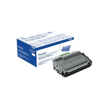 Genuine Brother TN3512 Black Toner Cartridge