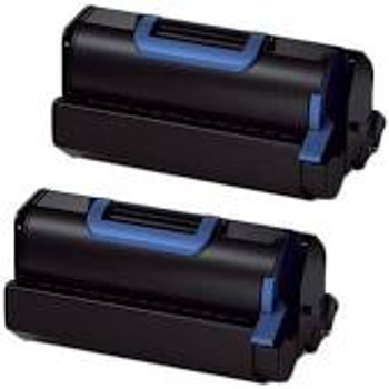 Compatible OKI 45488802 Black Toner Cartridge Twin Pack