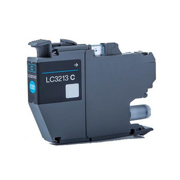 Compatible Brother LC3213 Cyan Inkjet Cartridge