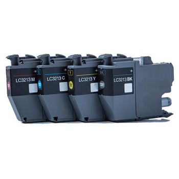 Compatible Brother LC3213 Inkjet Cartridge Multi Pack