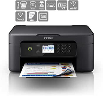 Epson Expression Home XP-4100 Print/Scan/Copy Wi-Fi Printer, Black